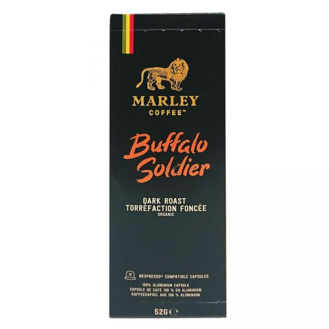BUFFALO SOLDIER - DARK ROAST - NESPRESSO CAPSULES 10PC